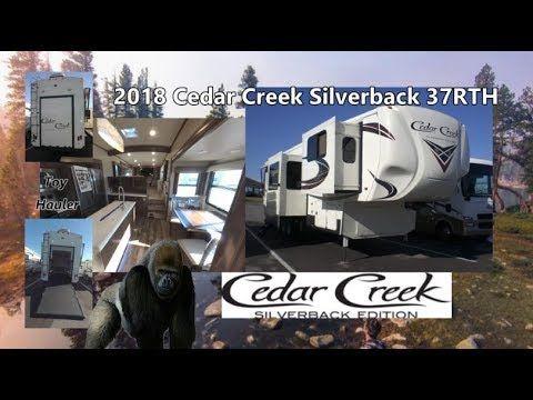 New 2018 Cedar Creek Silverback 37rth Toy Hauler Mount Comfort