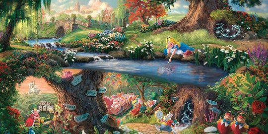 Pelukis ini bikin dunia Disney terlihat lebih indah daripada ...