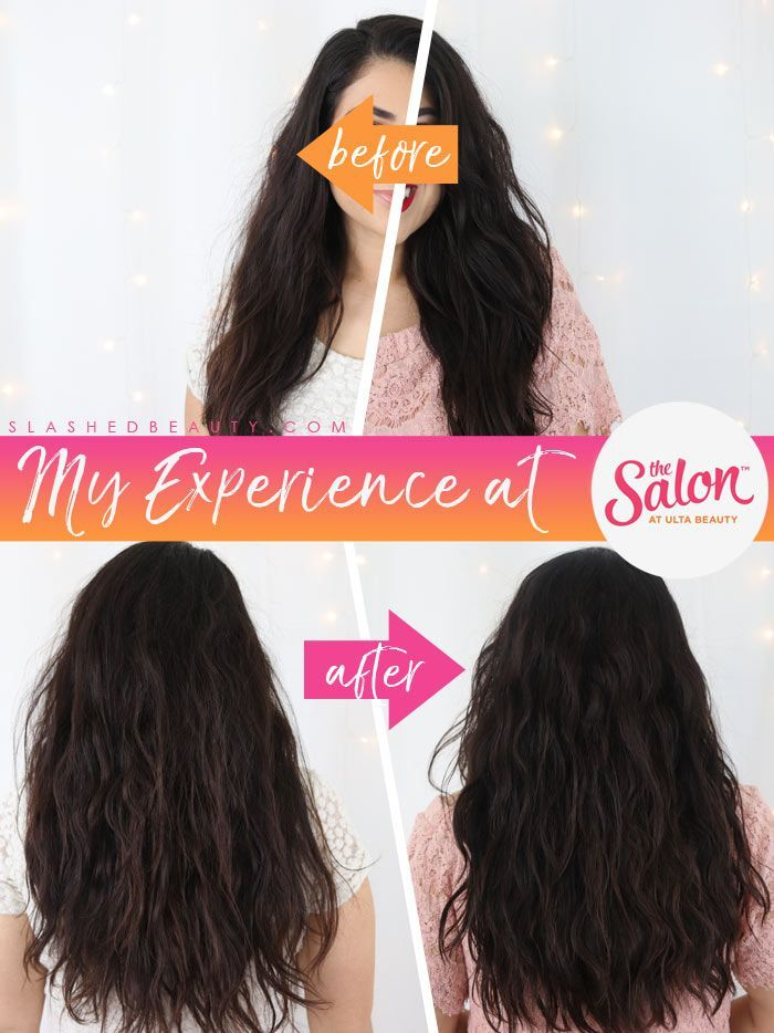 Before After The Salon At Ulta Beauty Review Slashed Beauty In 2020 Ulta Beauty Ulta Hair Ulta Hair Salon