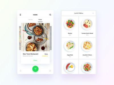 DailyUI - Food and Drinks App