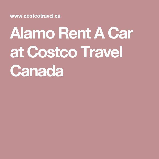 Alamo Rent A Car at Costco Travel Canada