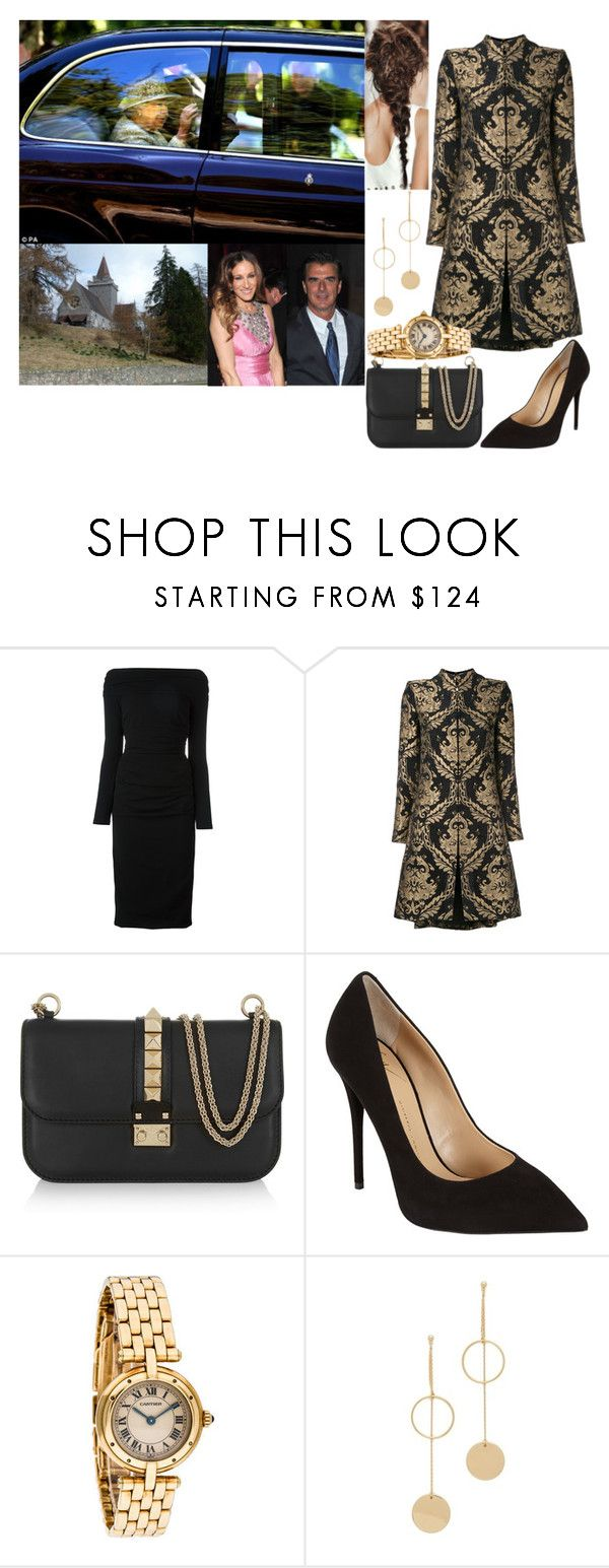 """""""Attending Devine Service at Crathie Kirk with her Parents"""" by midnightkiss98 ❤ liked on Polyvore featuring Dolce&Gabbana, Alice + Olivia, Valentino, Giuseppe Zanotti and Cloverpost"""