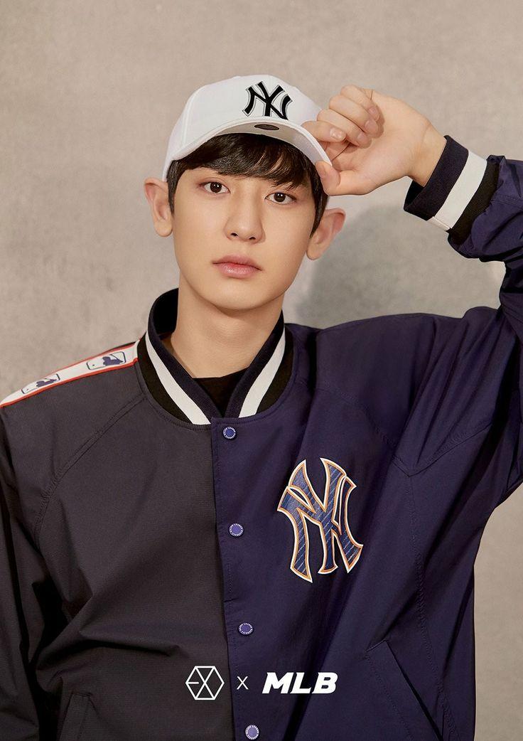 180313 #EXO #CHANYEOL @ MLB Official Website: < MLB X EXO >