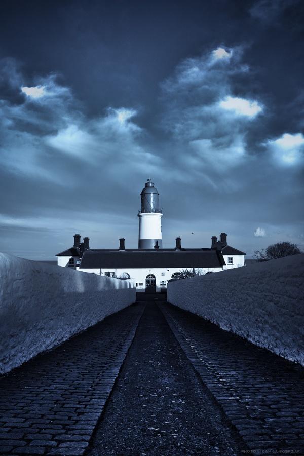 Souter LighthouseMarsden in South TynesideTyne and Wear England54.970760, -1.364200   by Kamila Bobrzak, via 500px