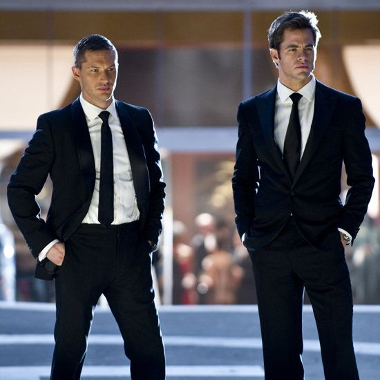 tom hardy and chris pine <3 <3 <3 Love this movie... Love them. Fell in love with Tom Hardy as Tuck.... Chris Pine is just hot...always!