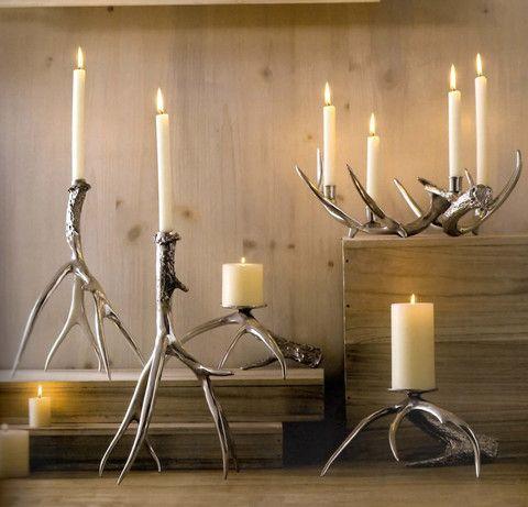 Pictures of Antler Candlesticks & Pillar Holders - shop.formaliving.com