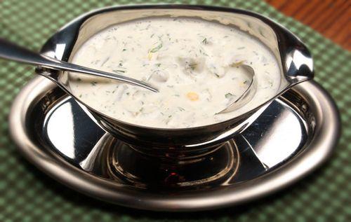 Сметанный соус - Рецепты сметанного соуса - Как правильно готовить