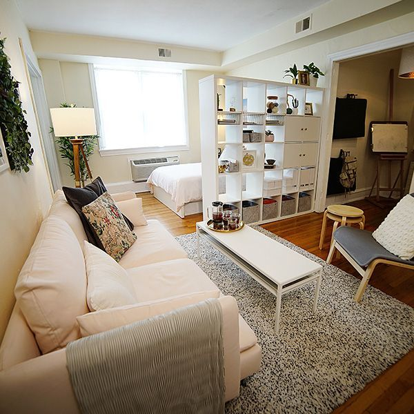 Find Inspiration For Your First Studio Apartment Ideas And Setup With The Ikea Studio Apartment Layout Studio Apartment Decorating Living Room Decor Apartment