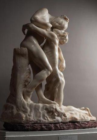 Vertumnus and Pomona (1905) by Camille Claudel
