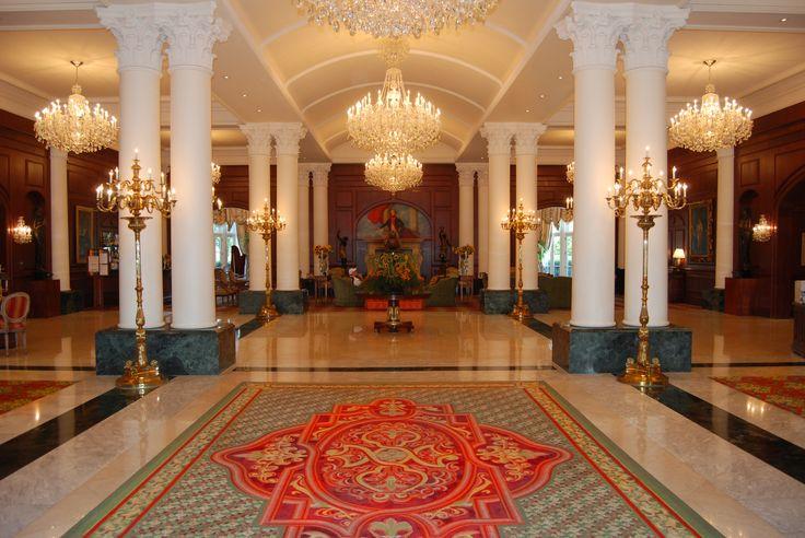 Nemacolin Woodlands Resort Chateau Lafayette Lobby Resort Pinterest Resorts Vintage