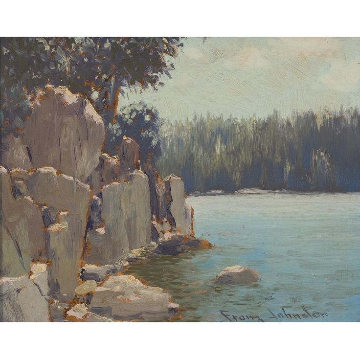 Frank (Franz) Hans Johnston 1888 - 1949 AT SILVER ISLAND, LAKE SUPERIOR