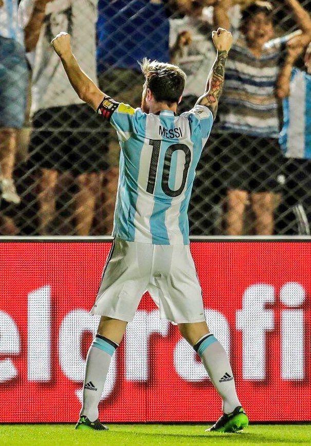 Gracias de nuevo Messi .Argentina 3 - 0 Colombia / Eliminatorias Rusia 2018. 15.11.2016