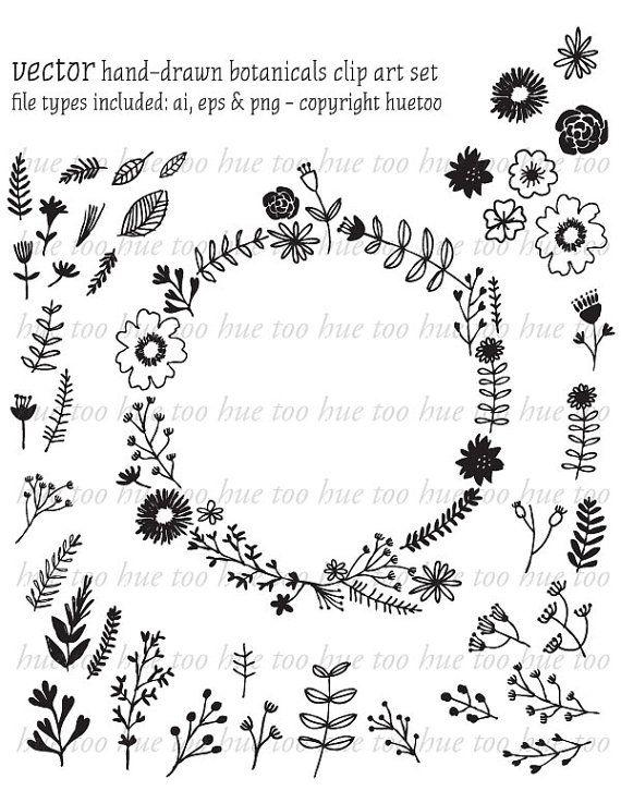 17 best ideas about Hand Drawn Flowers on Pinterest | Kraft paper ...