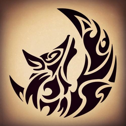 Tribal Wolf Henna Design Globalredtent Com