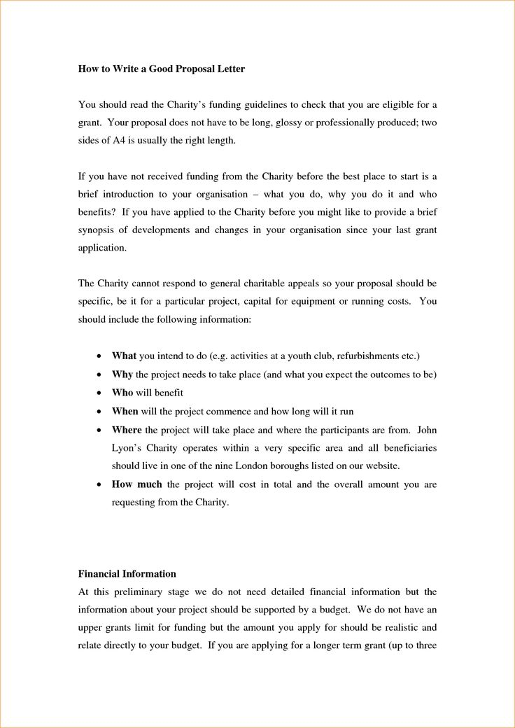 The 25+ best Business letter format example ideas on Pinterest - proposal example