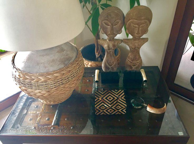 """Ethnic decoration """"Casa Yemayá """" VyP, Chile"""
