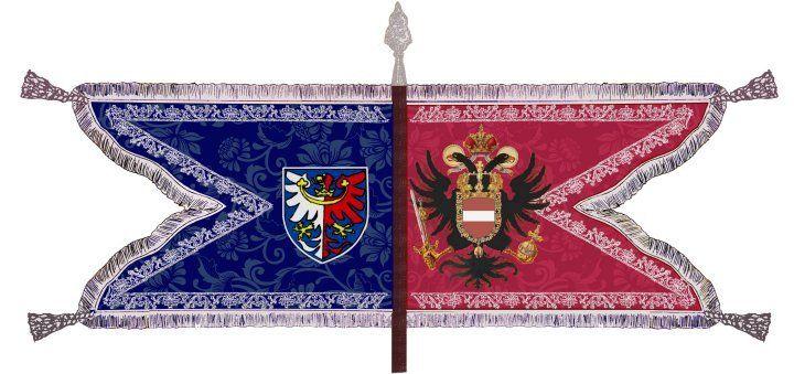 Austria - DR Nr.10 - Kolowrat-Krakowski : Regimentfahne