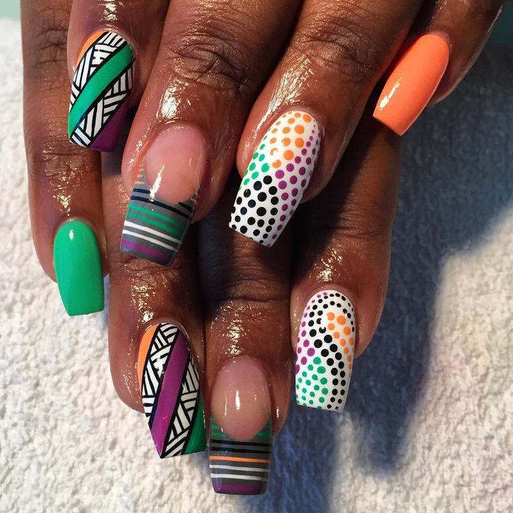 #nails #nailart #notd #charlottenailtech #talayabartistry