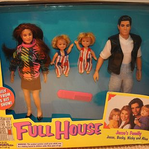 Full House | 10 Toy Lines Based On '90s Kids TV Shows That You Might Not Know Existed