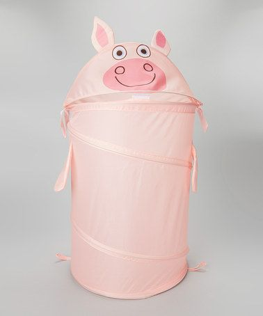 Another great find on #zulily! Pink Dilly Pig Hamper by Tiny Tillia by Avon #zulilyfinds