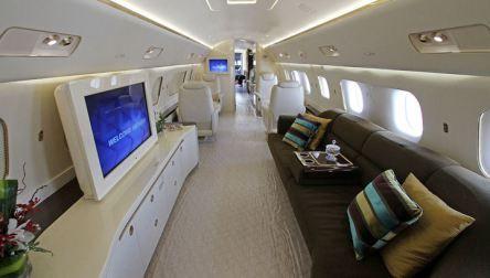 Embraer Lineage 1000: Ultra Lujoso Jet Privado, con Extra Comodidades