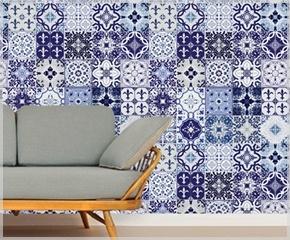 Ladrilhos adesivos | Westwing Home & Living - Móveis e Decoração para uma Casa com Estilo: Ideas, Notion, Tile, Inspiring Idea, Inspiring Ideas
