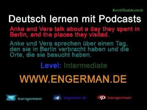 Deutsch lernen mit Podcasts #3