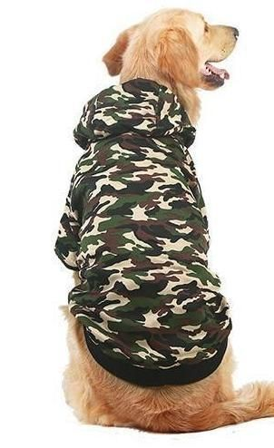 7498fdef29b9 Big Dog Camo Puffy Hoodie Pamper your pup with a soft and warm Big Dog Camo