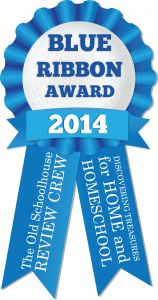 Blue Ribbon Award 2014:  My favorite Schoolhouse Review review items for this year!  (Spelling You See, UberSmart Math Facts, CTC Math, The Brinkman Adventures, Micro Business for Teens, My Student Logbook, Trident Case for iPad, Homeschool Piano, Flourish: Balance for Homeschool Moms, IXL Math and Language Arts)