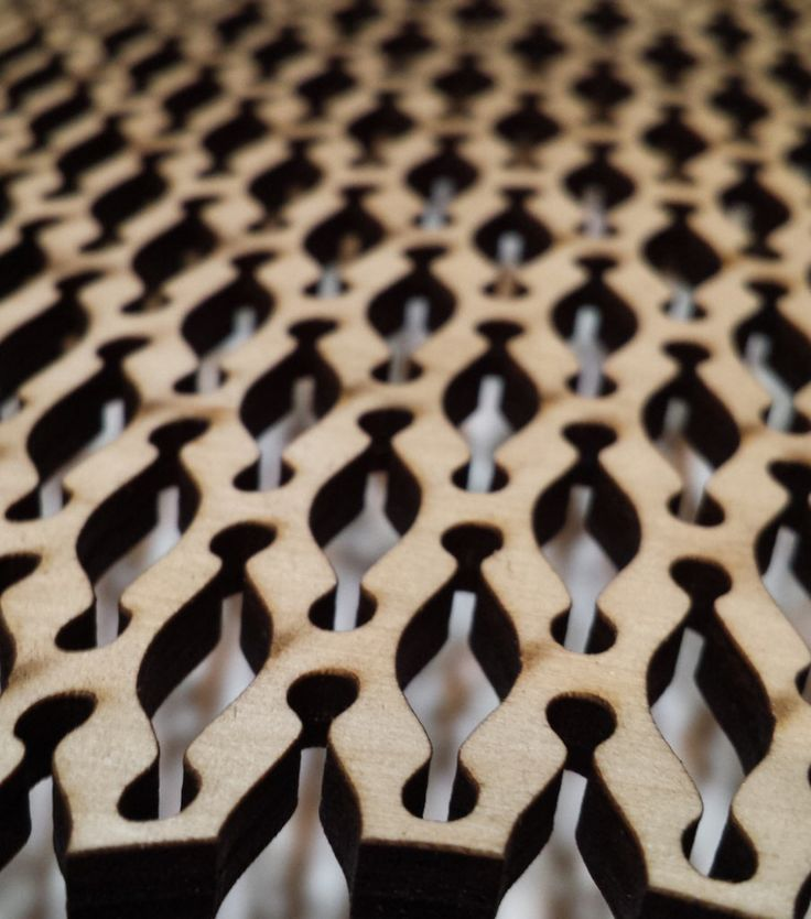 When Shaun Crampton designed a bentwood housing for his self-built radio receiver, he didn't go with steam-bending. Instead the software developer went the lasercutter route, cutting accordion lines to turn the walnut-veneered plywood into its own hinge. The result is not only pleasing to the eye, but looks like something