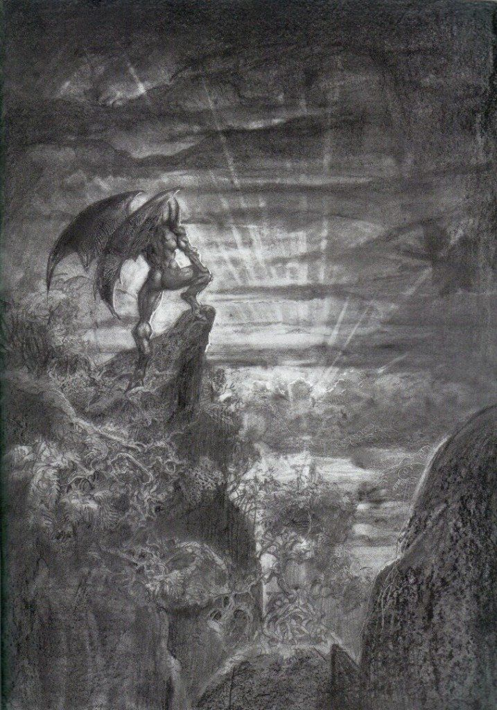 frankenstein and paradise lost essay The novel frankenstein is an shockingly complex work--especially considering that the author, mary shelley, was only 18 years old when she began writing it published in 1818, this gothic novel.