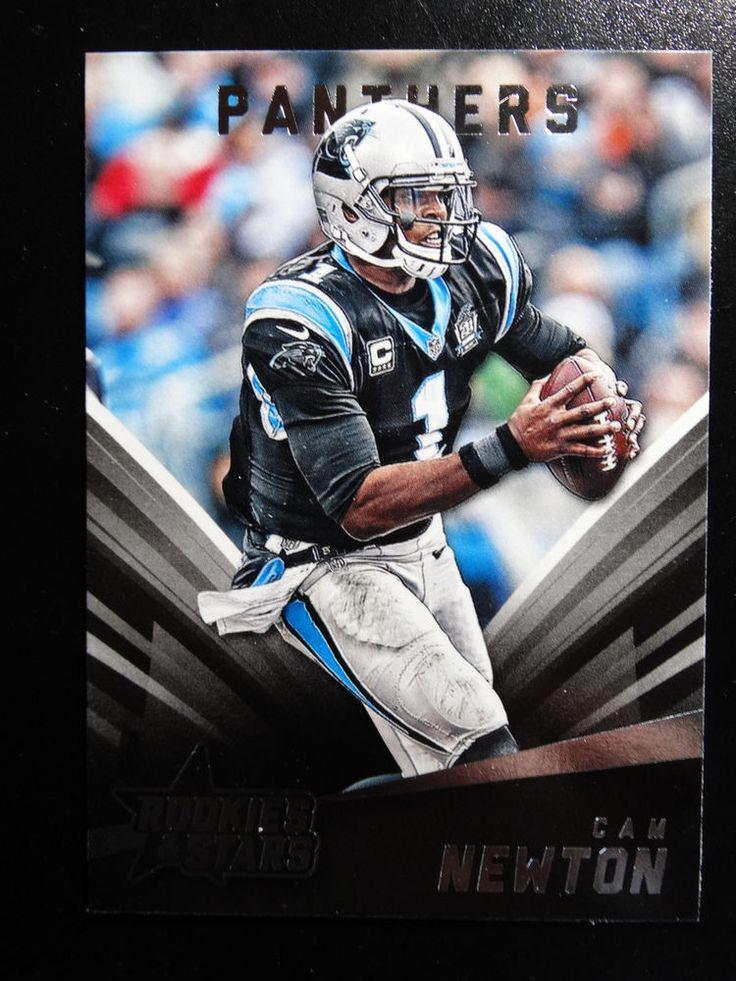 2015 Panini Rookies & Stars #79 Cam Newton Carolina Panthers Card #CarolinaPanthers