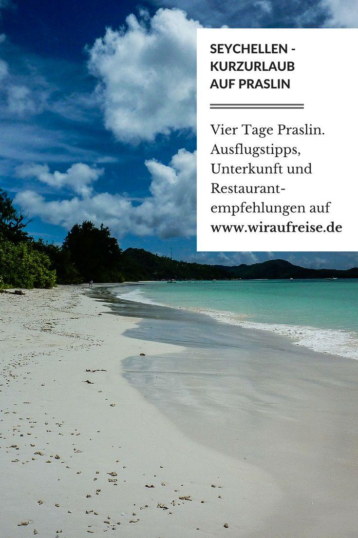 Praslin, Seychellen. Das perfekte Ziel für einen Kurzurlaub. Unseren Reisebericht gibt es auf www.wiraufreise.de