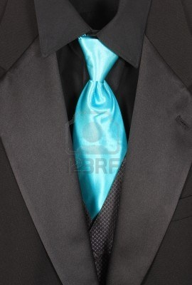 black vest and shirt with light blue tie for groomsmen