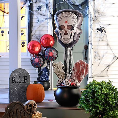 give your day of the dead party a bone ified entrance all it takes - Day Of The Dead Halloween Decorations