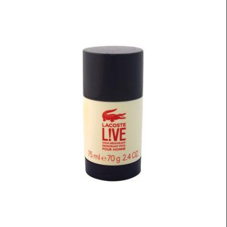 Lacoste Live for Men Deodorant Stick, 2.4 oz