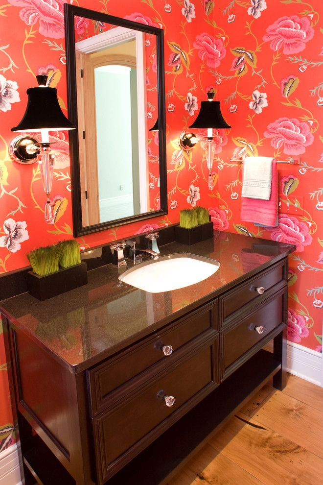 Ready For Valentines Day Bold Red Bathrooms Take Center Stage