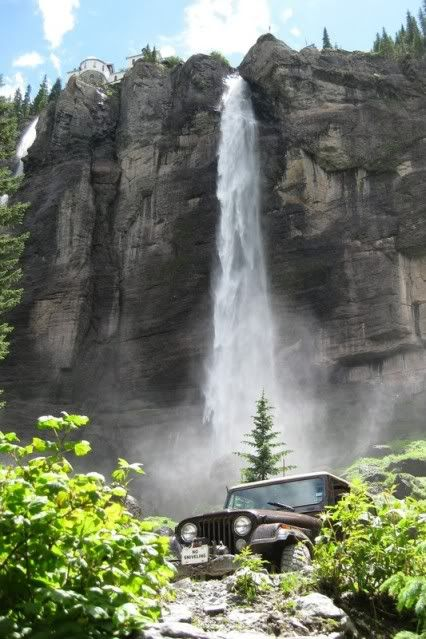 Bridal Veil Falls at Black Bear Pass - Telluride, Colorado