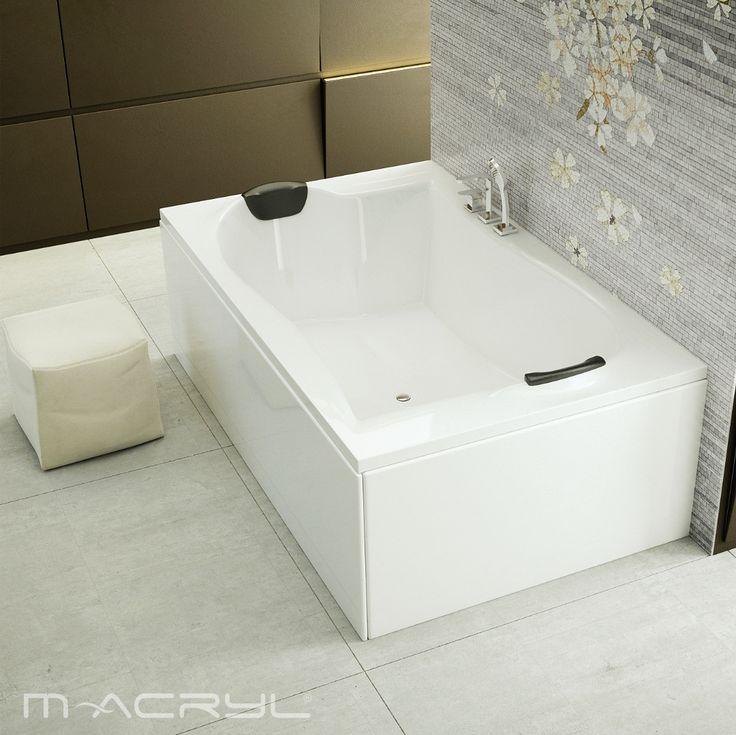 A Royal királyi élményt kínál két személyre. A lustácska, romantikus fürdőzéseket még kényelmesebbé teszi a 2 fejpárna.  #royal #royalmacrylkád #kétszemélyes #kettesben  #macryl #macrylkád #macrylkádak #akrilkád #fürdés #fürdőszoba #relax #kikapcsolódás #lakberendezés #inspiráció #belsőépítészet #minőség #design #health #bathroom #interiordesign