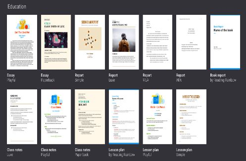 3 Awesome Google Drive Templates for Creating Lesson Plans