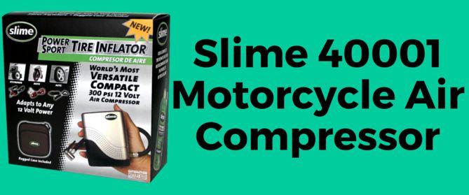 Slime 40001 Motorcycle Air Compressor