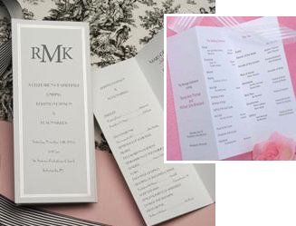 42 best tri fold wedding programs images on pinterest tri fold few wedding program kits have ever achieved the simple majesty of these gorgeous pearl border printable solutioingenieria Choice Image
