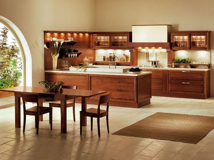 M s de 1000 ideas sobre cocinas de madera de cerezo en for Gabinetes cocina integral