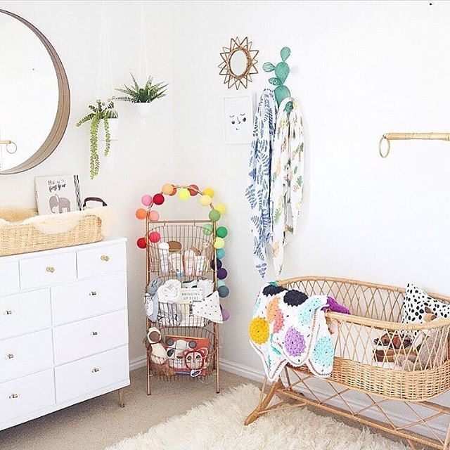 This eclectic shared boys nursery is so adorable! via @nataliedarlingblog. Liapela.com