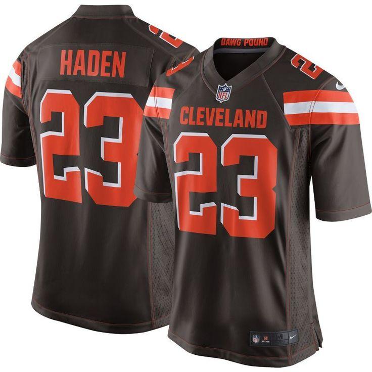 Nike Men's Home Game Jersey Cleveland Joe Haden #23, Size: Medium, Team