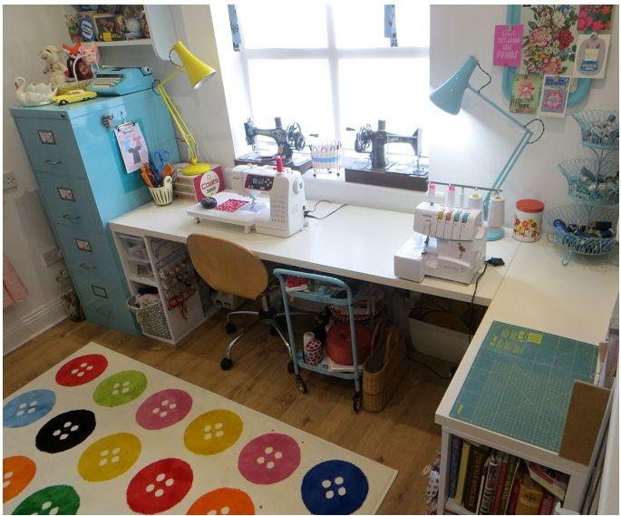 Diamo organizzati week 43 progettazione di un layout in for Sewing room layout