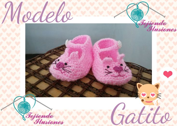 88 best Zapatitos de Bebe images on Pinterest | Modelo, Crochet ...