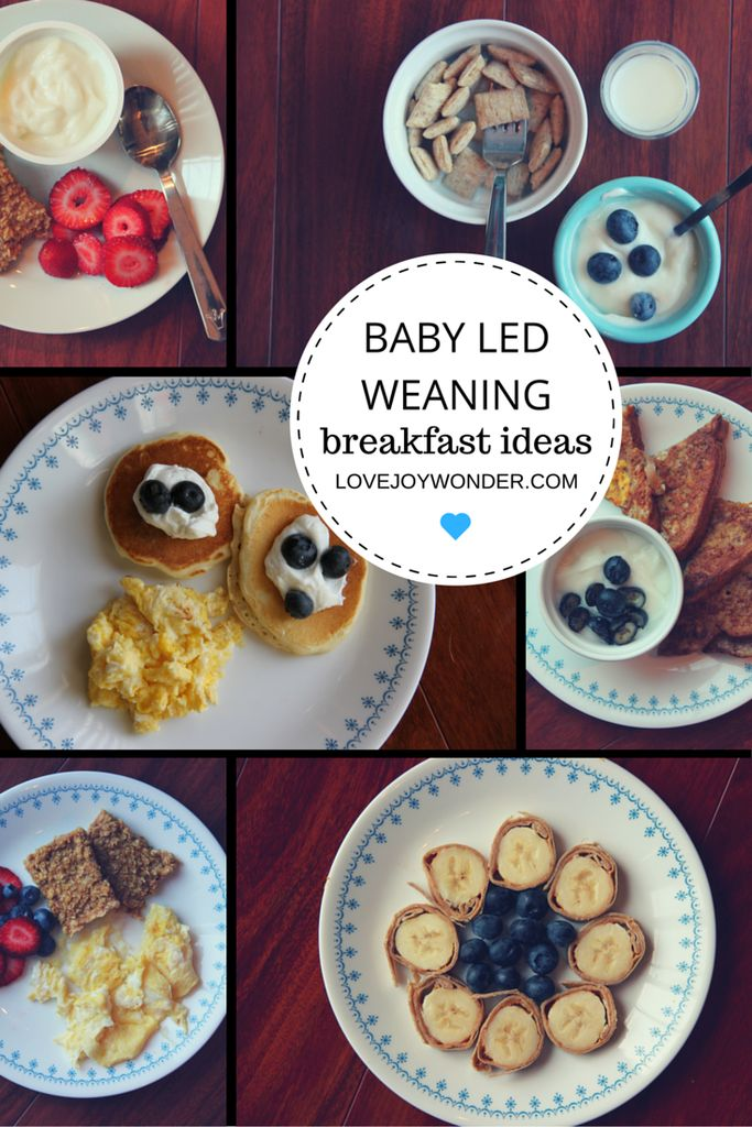 LoveJoyWonder.com - Baby Led Weaning and Toddler finger food Montessori Breakfast Meal Ideas and Inspiration
