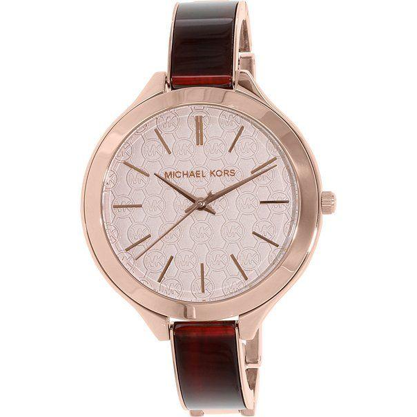 Michael Kors Women's MK4310 Brown Stainless-Steel Quartz Watch