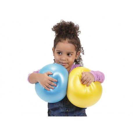Zabawki sensoryczne - akcesoria sensoryczne - integracja sensoryczna. Miękka, delikatna piłka doskonała do ćwiczeń fitness i zabaw ruchowych dla dzieci.